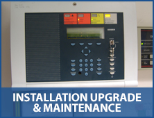 installed alarm system with text installation, maintenance & upgrade